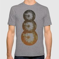 rusty circles Mens Fitted Tee Athletic Grey SMALL