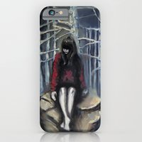 iPhone & iPod Case featuring Girl #3 by Nuez Rubí