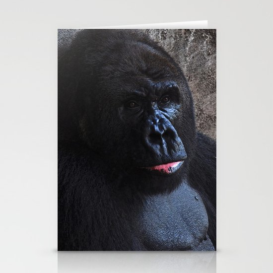 Gorilla Stationery Card