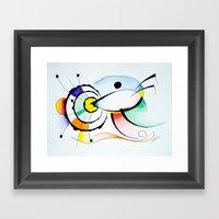 Eye - Ojo Framed Art Print