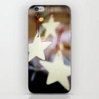 Christmas Stars iPhone & iPod Skin
