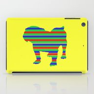 Bulldog Stripe iPad Case