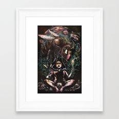 Sacrifice To The Stars Framed Art Print