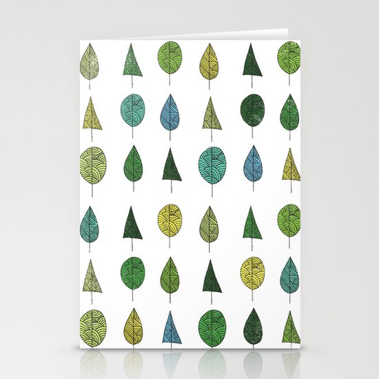 TREES MAKE A FOREST Stationery Card