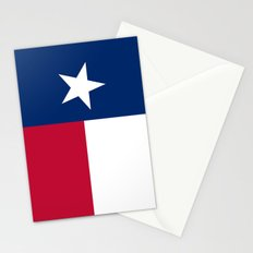 State flag of Texas - Vertical Authentic Version Stationery Cards
