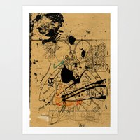 dithering 17 Art Print