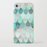 iPhone Cases featuring SUMMER MERMAID by Monika Strigel