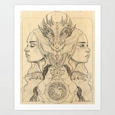 Dany Art Print