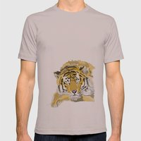 Sleepy Tiger Mens Fitted Tee Cinder SMALL