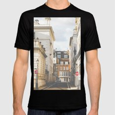 Vintage London SMALL Mens Fitted Tee Black