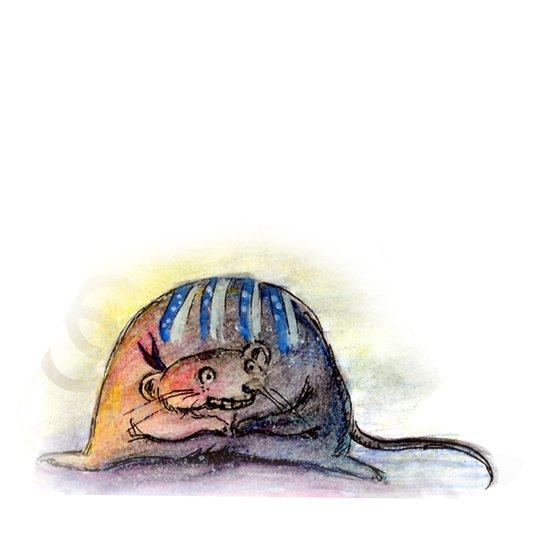 Tribal Mouse II Art Print