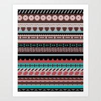 Navajo West Art Print