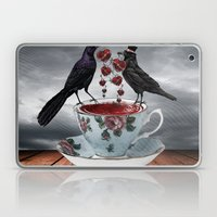 TEA AND A LIL' LOVE Laptop & iPad Skin