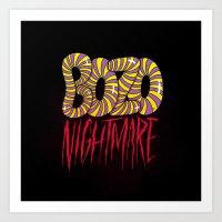 BOZO Nightmare Art Print