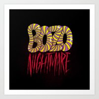 BOZO Nightmare Art Print