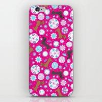 Dachshund Garden Party iPhone & iPod Skin