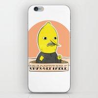 Earl Of Lemongrab iPhone & iPod Skin