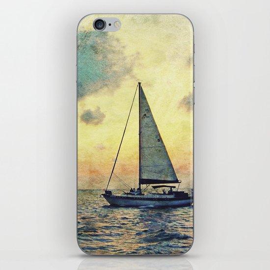 Sailing Along iPhone & iPod Skin