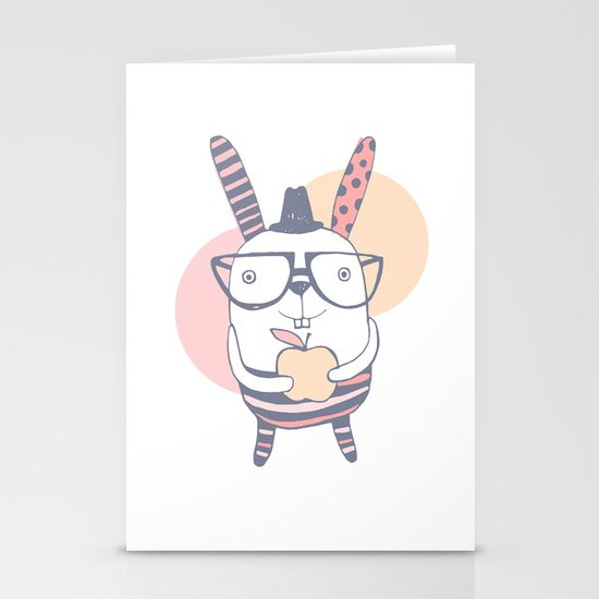 Mr.Rabbit Stationery Card