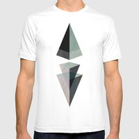 Solids Invasion Mens Fitted Tee White SMALL