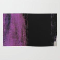 Purple and Black Rug