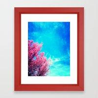Spring Trees 1 Framed Art Print