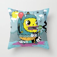 See You On The Other Sid… Throw Pillow