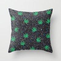 Glittery Throw Pillow