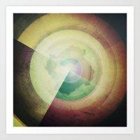 deconstruct .3 Art Print