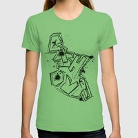 Cash Out Womens Fitted Tee Grass SMALL