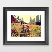 The Immemorial Leaf  Framed Art Print