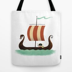 Viking Baby Tote Bag