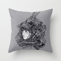 TRIBE Throw Pillow