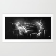 BallWars: Uncontroled Demolition Art Print