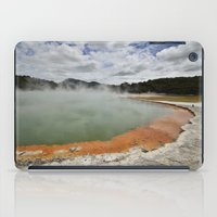 Thermal Pool iPad Case