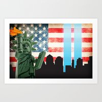 911 Tribute Art Print