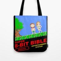 8-bit Bible Tote Bag