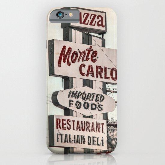 Monte Carlo iPhone & iPod Case