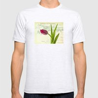 Tulip Mens Fitted Tee Ash Grey SMALL