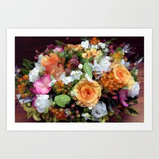 Bohemian Bouquet Art Print