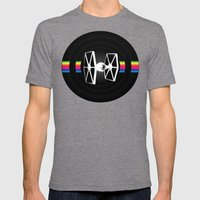 DS-61-2 Mens Fitted Tee Tri-Grey SMALL