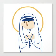 St. Teresa (Mother Teresa) Canvas Print