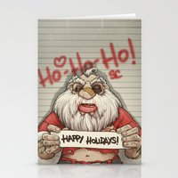Busted Xmas Stationery Cards