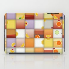 cocktail squares iPad Case