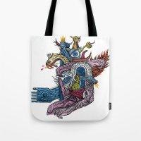 New God Makina - Print A… Tote Bag
