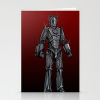 Cyberman... Stationery Cards