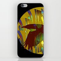 The rook and the moon iPhone & iPod Skin