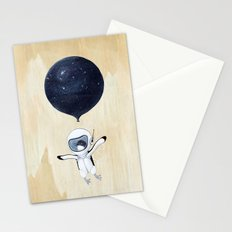 Penguin fly Stationery Cards