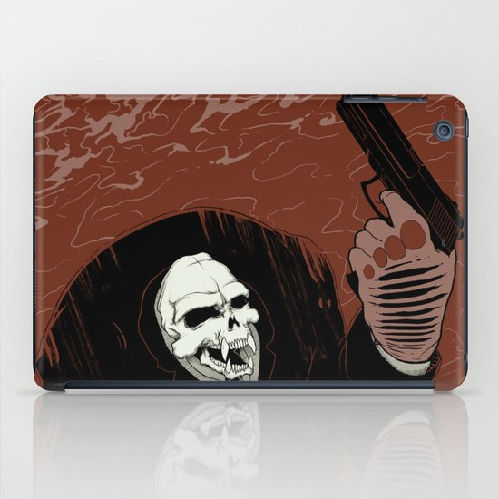 Monkey Skull Suit iPad Case