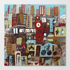 City, City Canvas Print